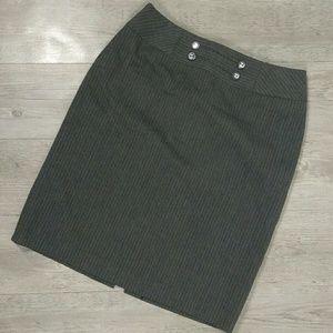 Antonio Melani Pinstripe Pencil Skirt